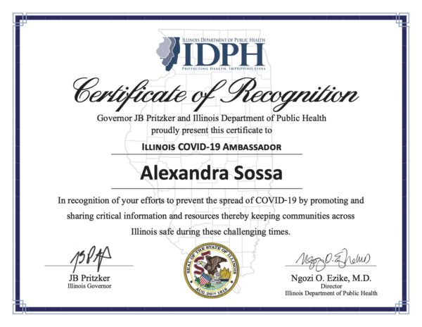 IDPH recognition